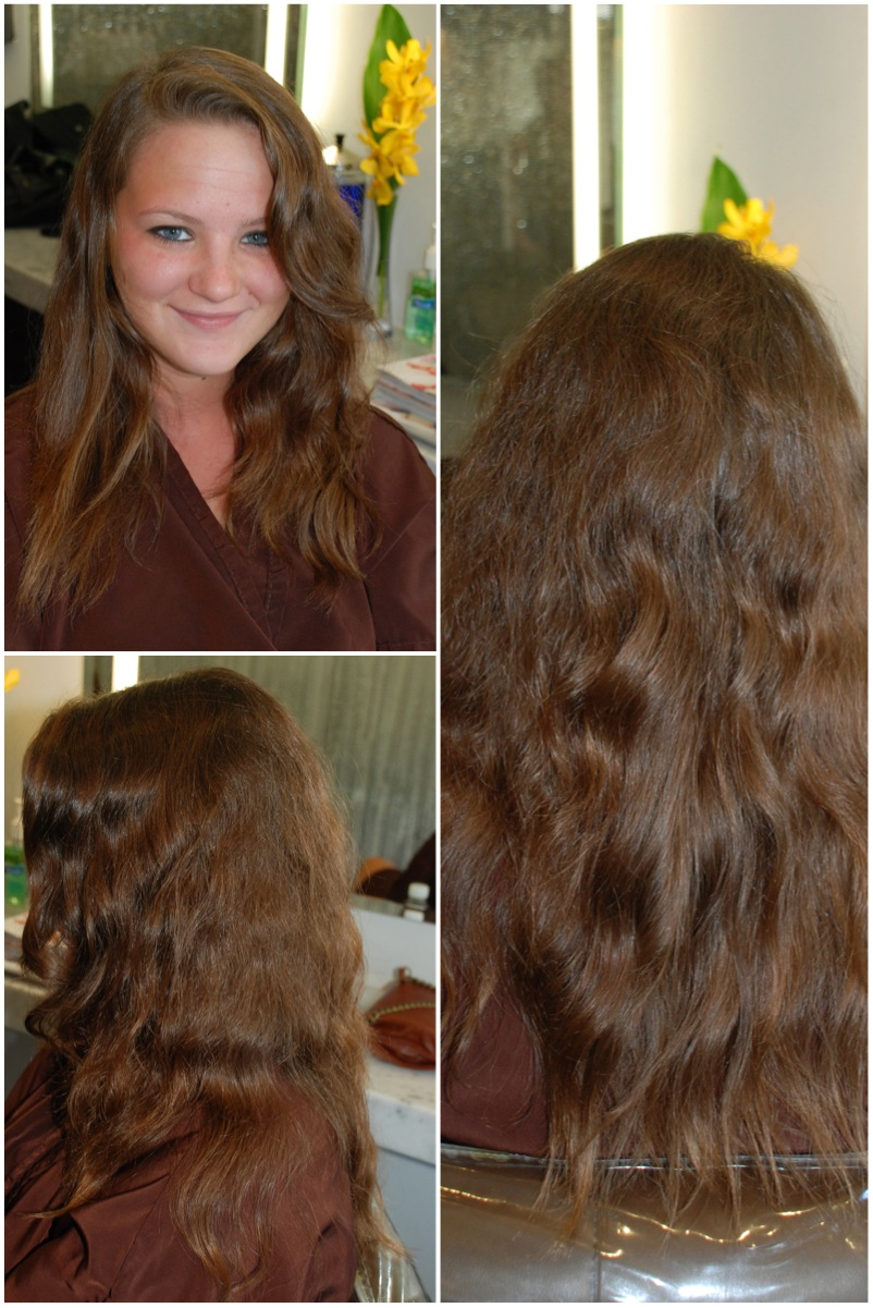 erynne brown hair before