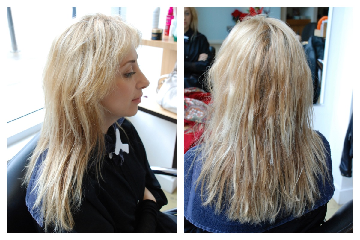 Damaged Blonde Hair Hair Color Rehab