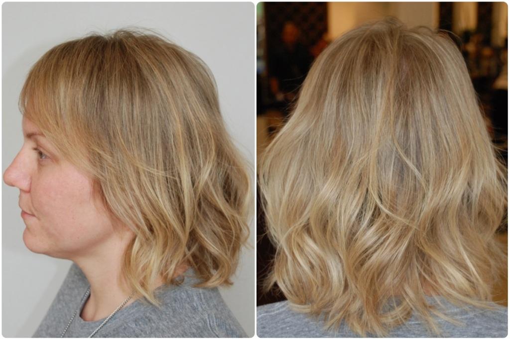 nikki after golden blonde