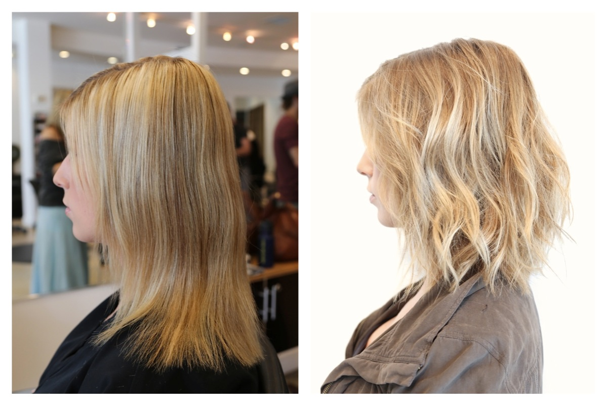 Golden Blonde Hair Color Rehab