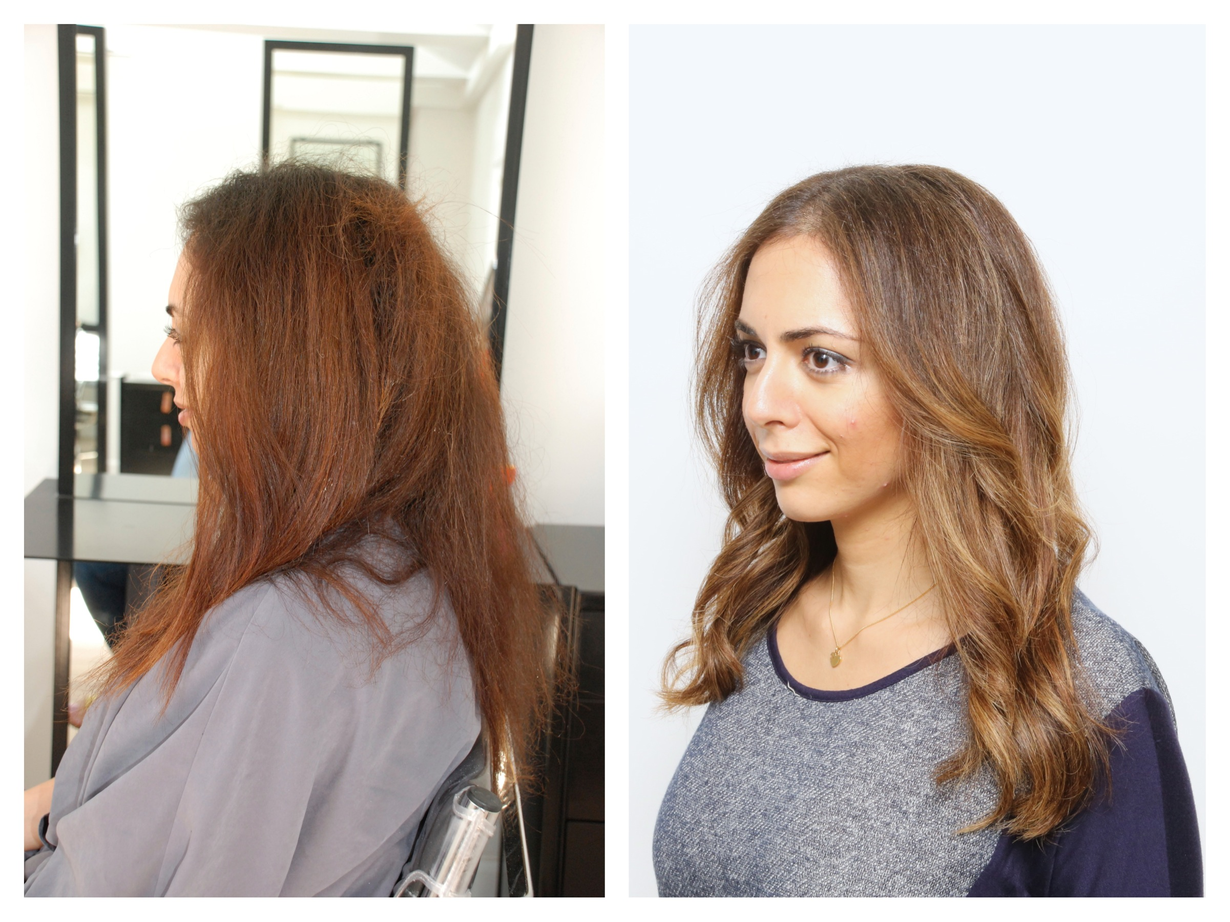Brunette Hair Color Rehab