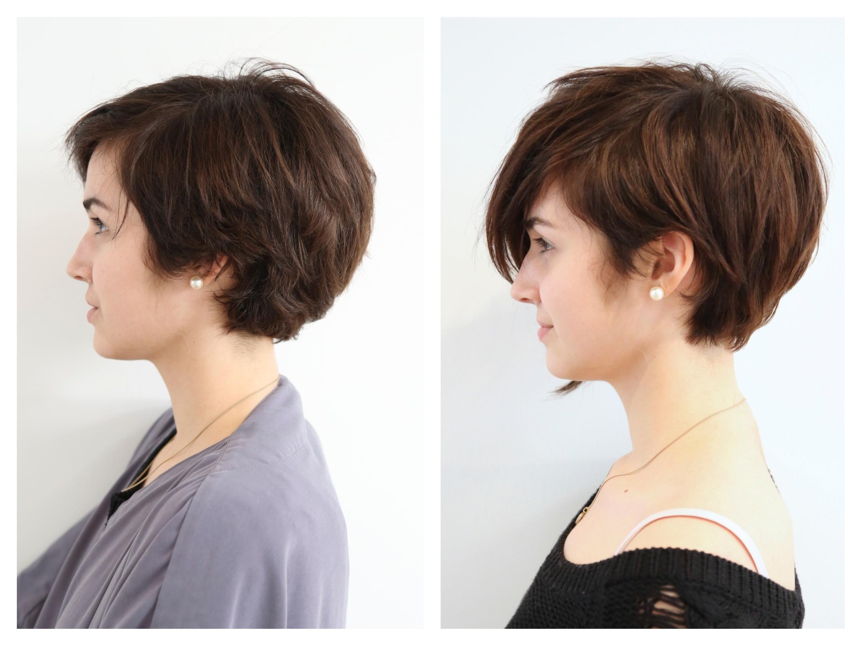 Cute Pixie Cut Hair Color Rehab