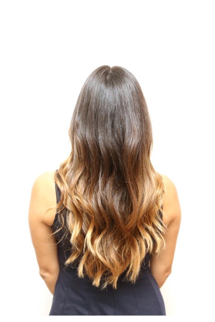 virgin hair back