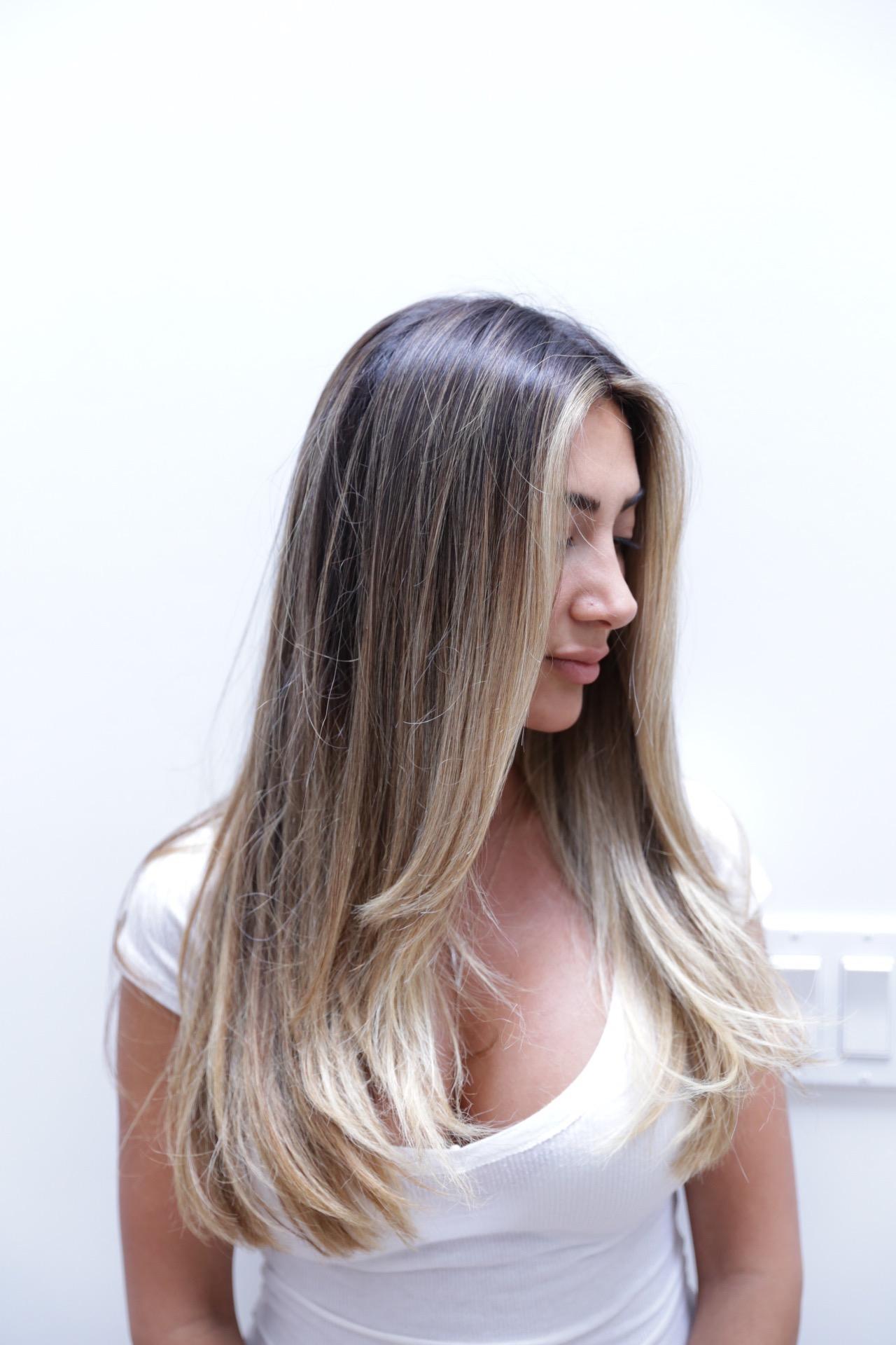 Face Frame Highlights Hair Color Rehab
